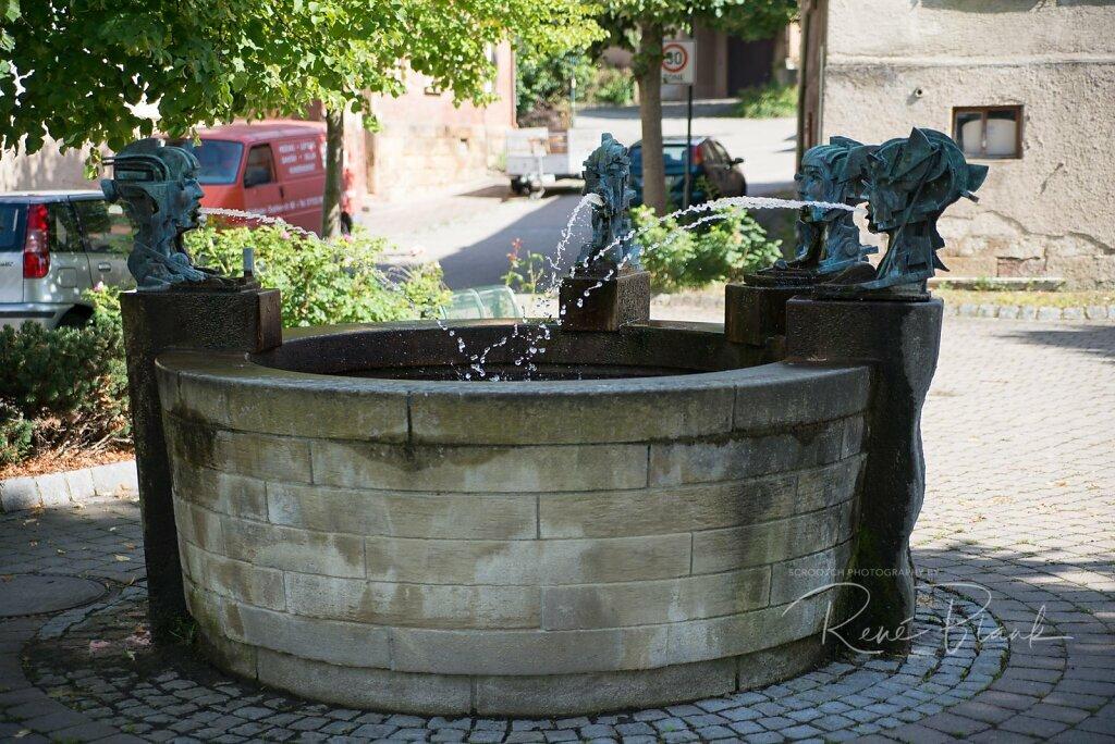 Dorfbrunnen, Weiler an der Zaber